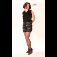 Wife in Lingerie:Netzstrumpfhose