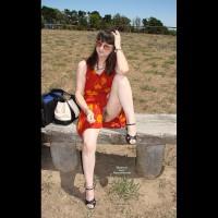 Nude Me on heels:*SP Aussielouise - Lookout