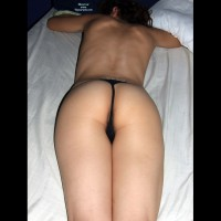 Girlfriend in Lingerie:*SA I Love Her Round Ass