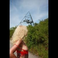 Nude Girlfriend on heels:*SP Tina At Tetraeder, Germany
