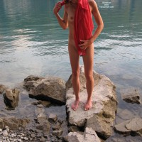 Nude Co-Worker: *SP More Of Her By The Lake