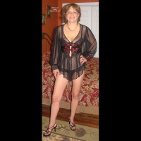 Ex-Girlfriend in Lingerie: Judy Showing Off Her Body