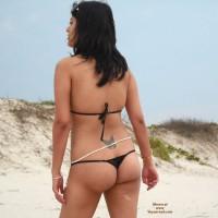 Wife in Swimwear:*SP Indian In Black Thongs