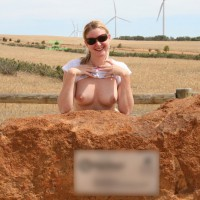 Topless Wife: *SP Grt Aussie Outdoors - Flashing, Topless, Topless Wife