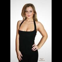Monique Sexy Black Dress