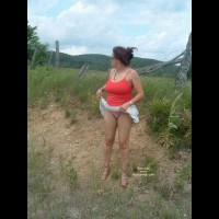 Wife In Outdoor Display