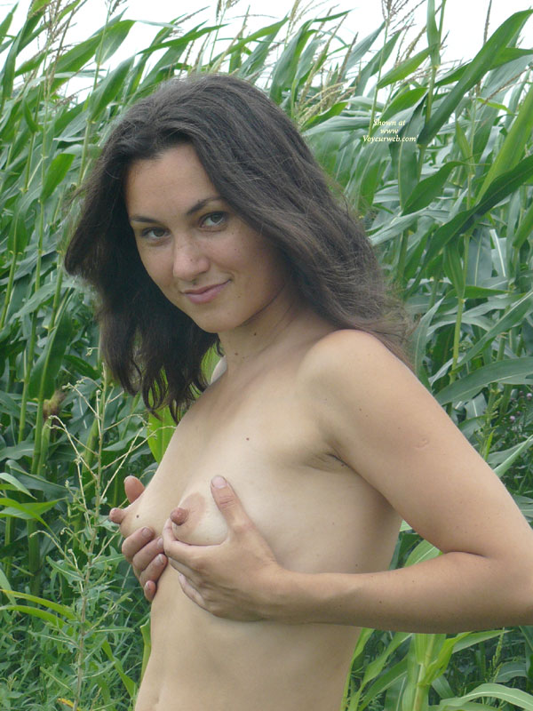 Pic #1 - Farmers Daughter Hold'in Puppies - Topless, Naked Girl, Nude Amateur , Nasty Smile, Cfm Look, Naturaly Beautiful, Topless Farm, Perky Nipples, Warm Soft Skin, Small Boobs, Dreamy Eyes, Nude Me, Tight Tiny Tits, Holding Breasts, Corn Field, Cupping Tits, Totally Tubular