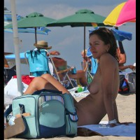 Beach Voyeur: Sandy Hook Beach Girls