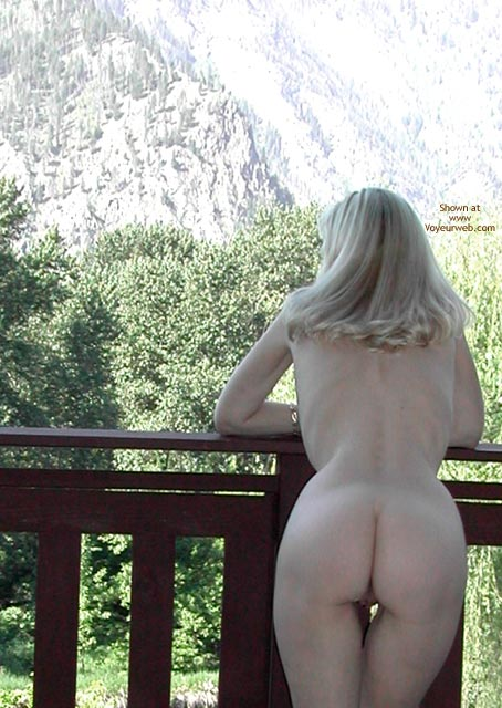 Pic #1 - Outdoors - Nude Outdoors, Hot Wife , Outdoors, Blonde Backsides, Wfi