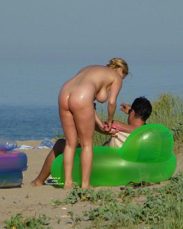 Black nude beach voyeur