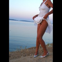 Pantieless Wife: *SP White Dress