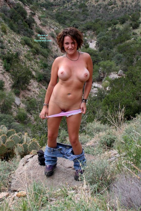 Nude Friends Wife Sp Pictures Taken At Cloudcroft, New -8516
