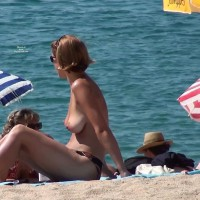 Topless :Costa Brava - Blanes July 2010