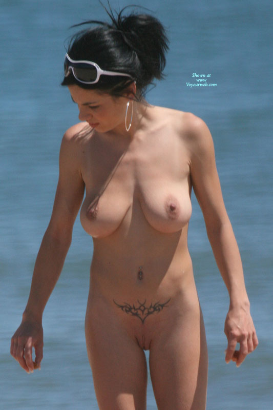 Apologise, black hair on the nude beach