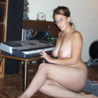 Just Me And My Keyboard...... - Big Tits, Indoors, Large Aerolas, Large Nipples