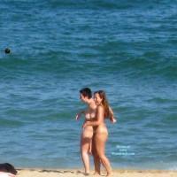 Beach Voyeur:*NW Beach Voyeur: Butt And Bush Having A Good Time