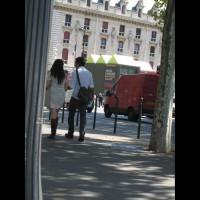 Street Voyeur:See Through Skirt In Paris