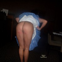 Nude Amateur on heels:*NS B-Day