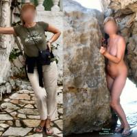 Nude Girlfriend on heels:My 56 Year Old Gf