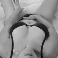 Hand In Panties - Navel Piercing, Sexy Lingerie