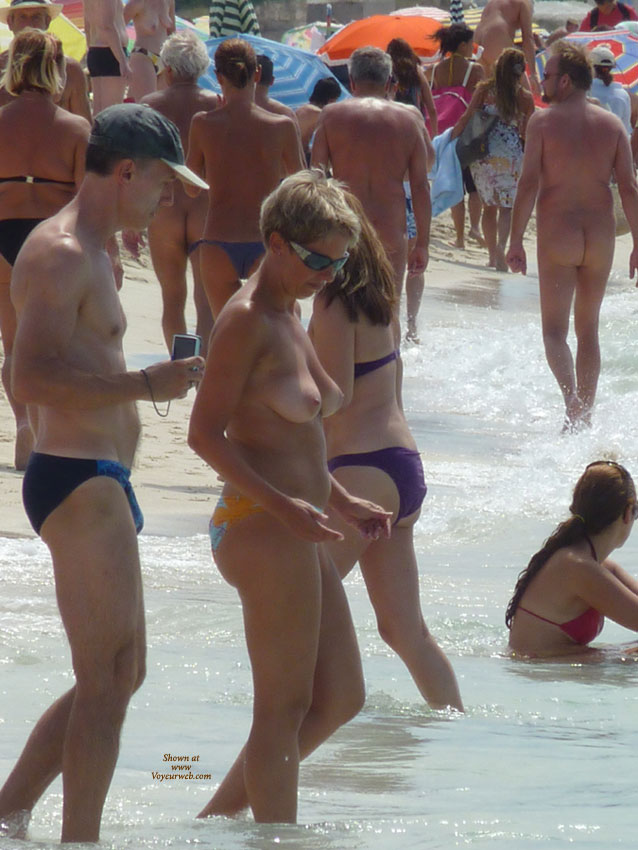 Remarkable, rather Beach shower spain voyeur web something is
