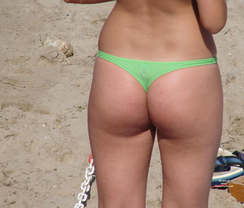 Not absolutely Beach voyeur bikini panties for that