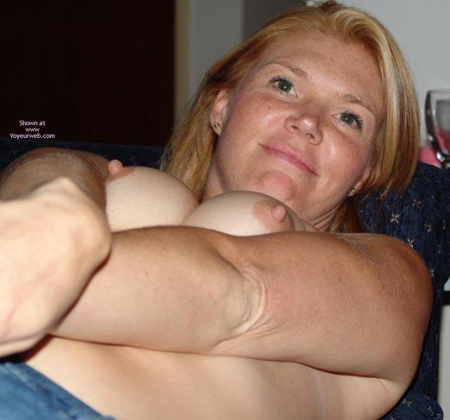 Pic #1 - Perky Nipples - Hard Nipple, Perky Nipples , Perky Nipples, Hard Nipples, Breast Pushed Together, Smiling Face
