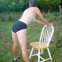 Nude Wife:Up North Woods