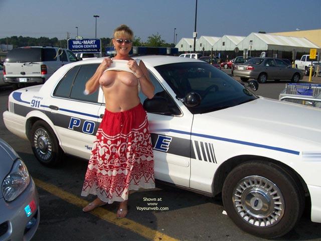 Pic #1 - Cop Shots - Flashing , Cop Shots, Police Flashing