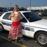 Cop Shots - Flashing