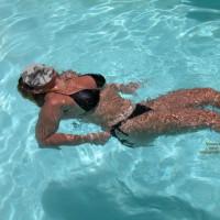 Mrs S. Florida Sunshine Takes A Swim