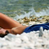 Beach Voyeur:Wet Croatia Girls