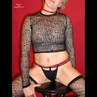 Passion In Spider Web Stockings