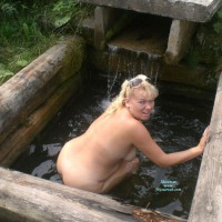 Nude Wife: Water, Pussy, Ass