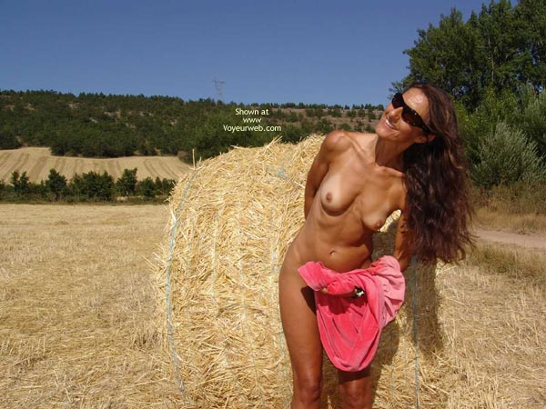 Pic #1 - Nude Outdoor - Small Tits, Tan Lines, Topless , Nude Outdoor, Small Tits, Farming Pics, Tan Lines, Topless