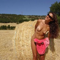 Nude Outdoor - Small Tits, Tan Lines, Topless