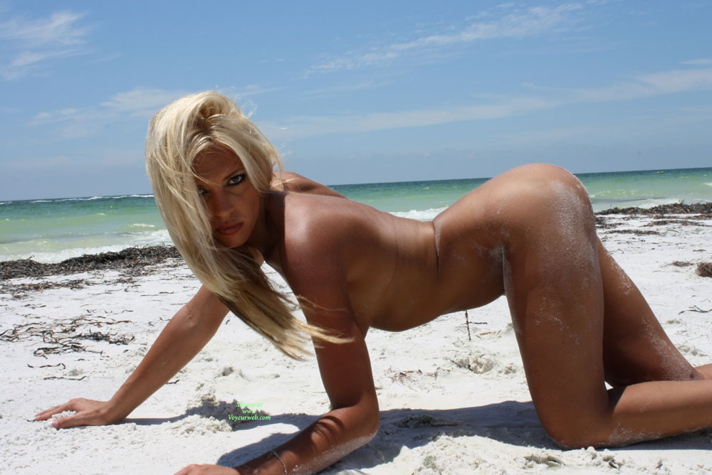 sexy nude beach all fours