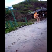 Nude Friend's Wife:Brasil: Blonde In Tambaba Beach