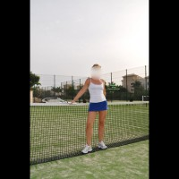 Me dressed sexy: Tennis Lessons Part 1