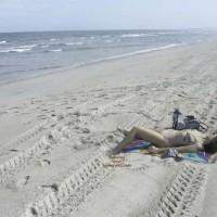 Wife @ The Beach Again