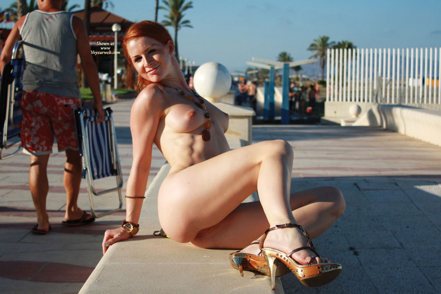Opinion Girl nude public here