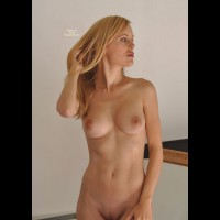 Blonde With Sexy Tits - Blonde Hair, Large Aerolas, Shaved Pussy, Sexy Girl, Sexy Woman , Amateur Photos, Standing Up, Running Fingers Through Hair, Morning Blond, Tight Stomach, Hair Play, Lushious Lips, Looking To Side, Very Nice Tits