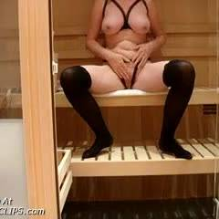 Getting Hot And Bothered In The Sauna