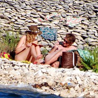 Beach Voyeur:Croatia & Sun & Voyeur