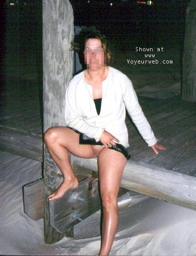 Pic #4 - WilmaF on boardwalk