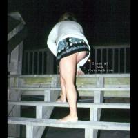 WilmaF on boardwalk