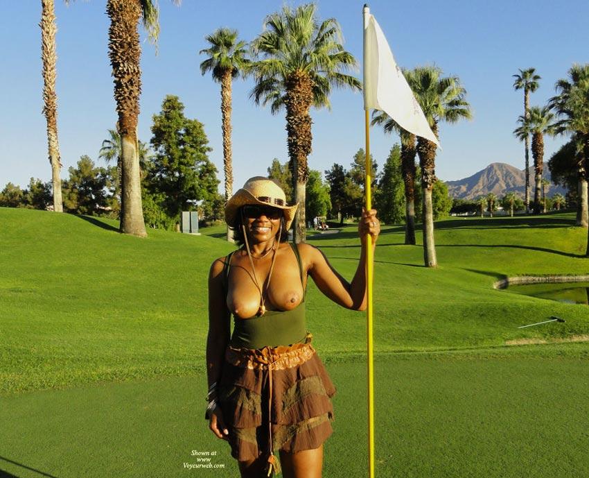 Golfer wife nude