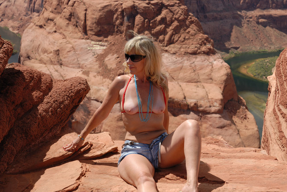 Lake powell naked remarkable, the
