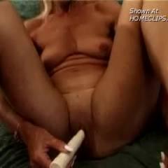 Anita, Old Mom, Masturbating