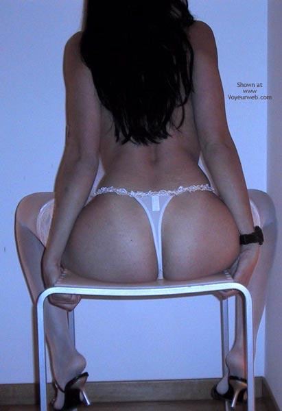 Pic #4 - Mia Moglie Elisa75 In White Stockings